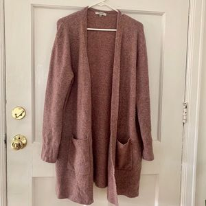 Super soft Madewell long cardigan size M